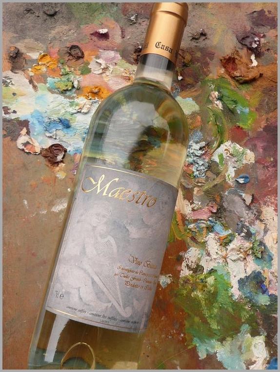 maestro vino valsusa bianco vitigno baratuciat casa ronsil chiomonte piemonte italia