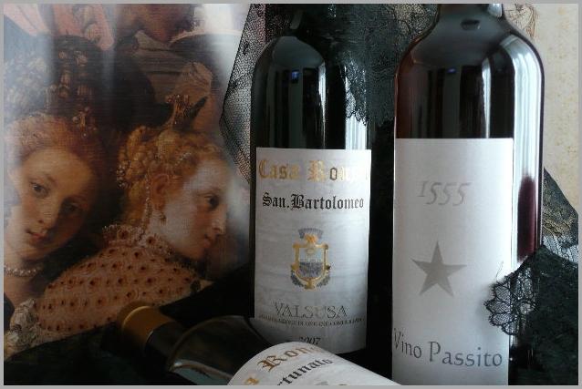 vino valsusa vino passito casa ronsil chiomonte italia