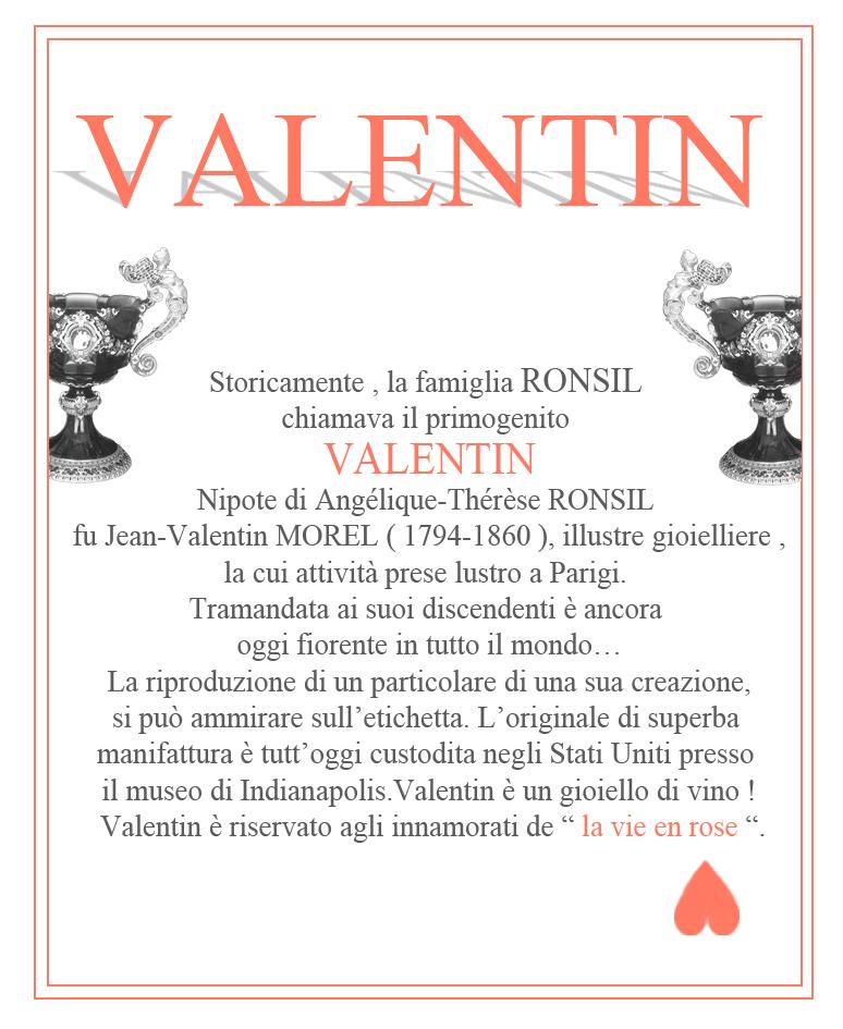 """Storia di """" valentin """" il primo rosato di CASA RONSIL in Valsusa per tutti gli innamorati della vita in rosa !"""