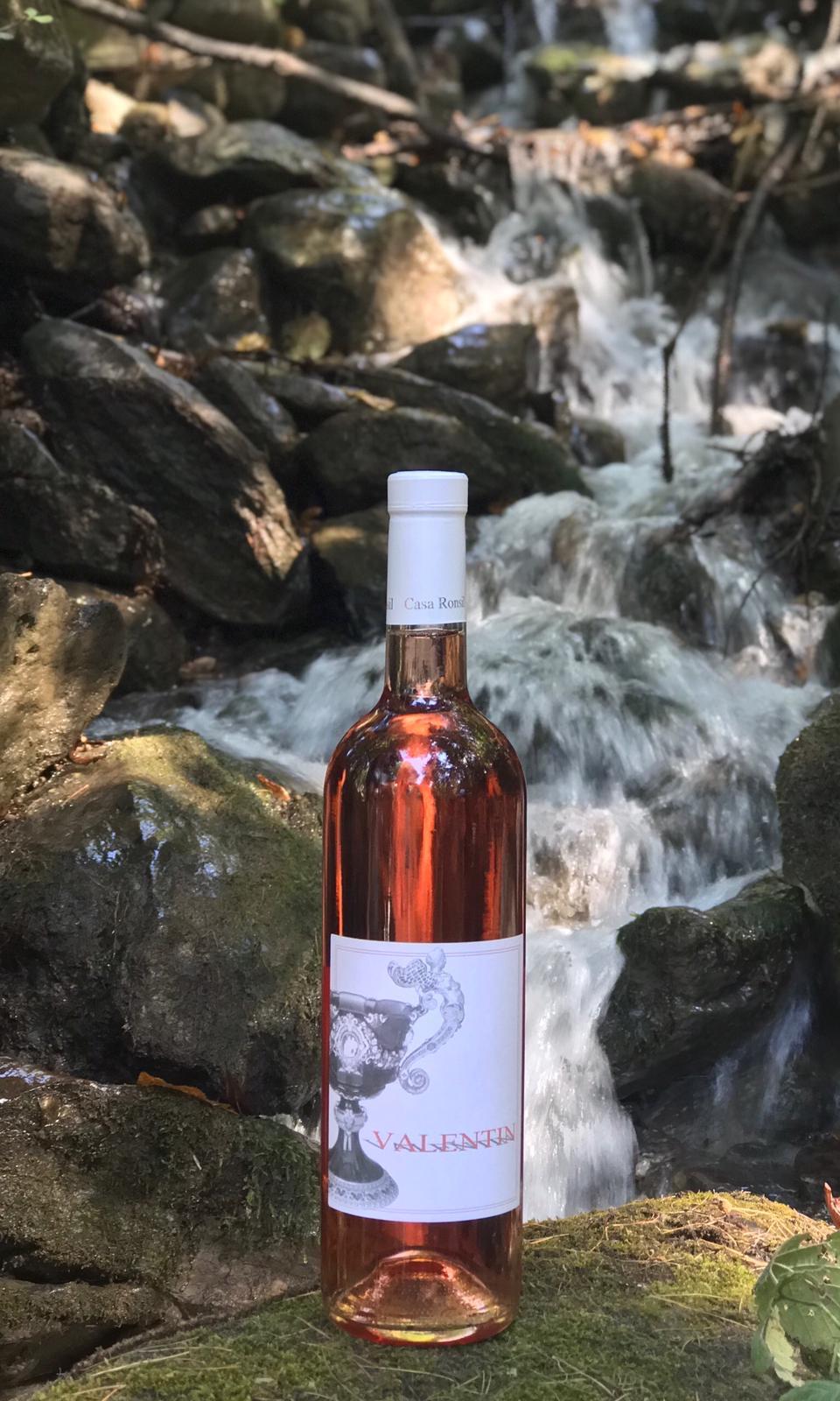 """""""Valentin"""" vino rosato della Valle di Susa (TO)"""